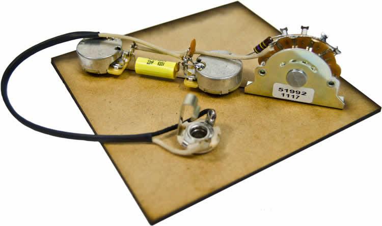 Telecaster Wiring Harness Kit Upgrade