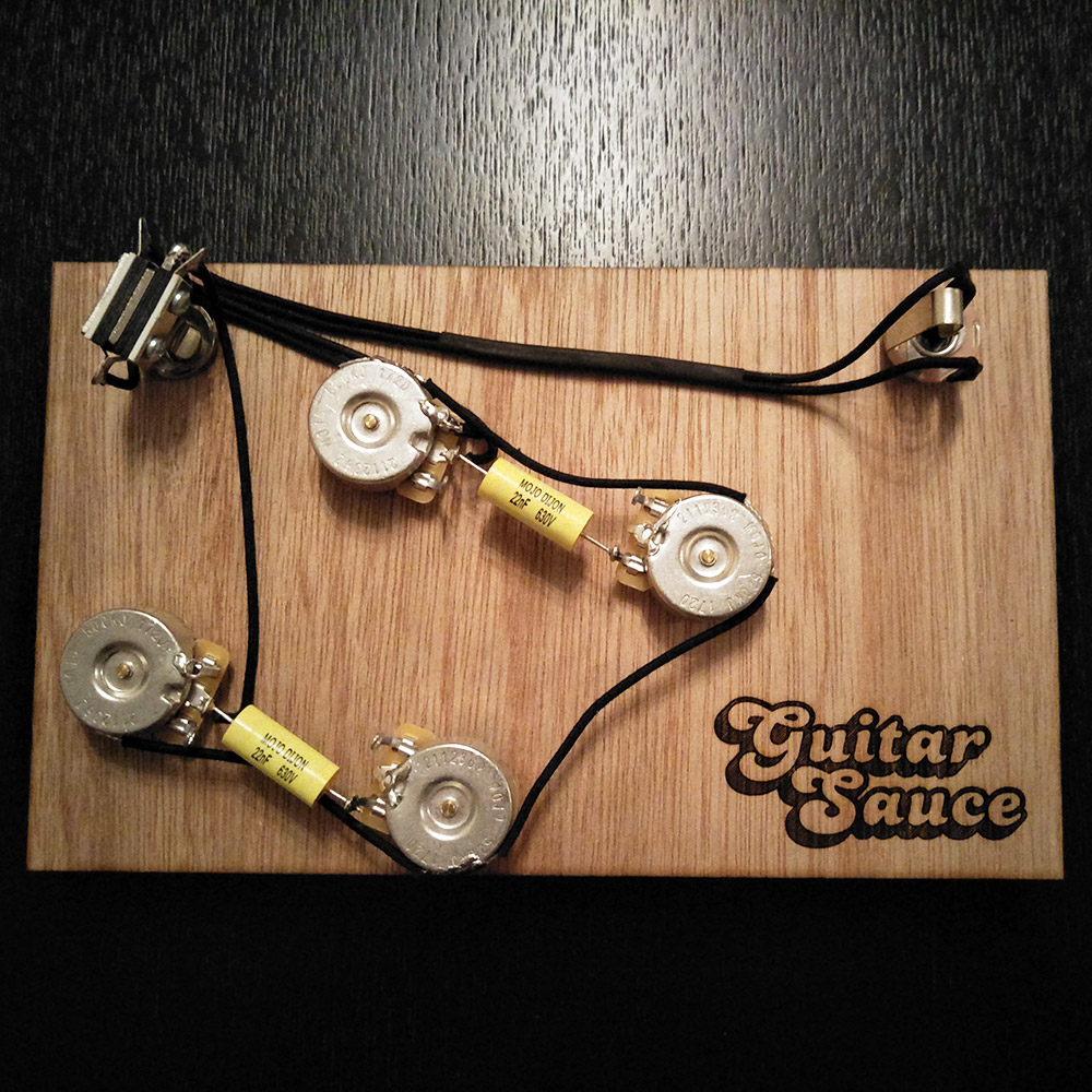 Es premium wiring harness upgrade guitar sauce