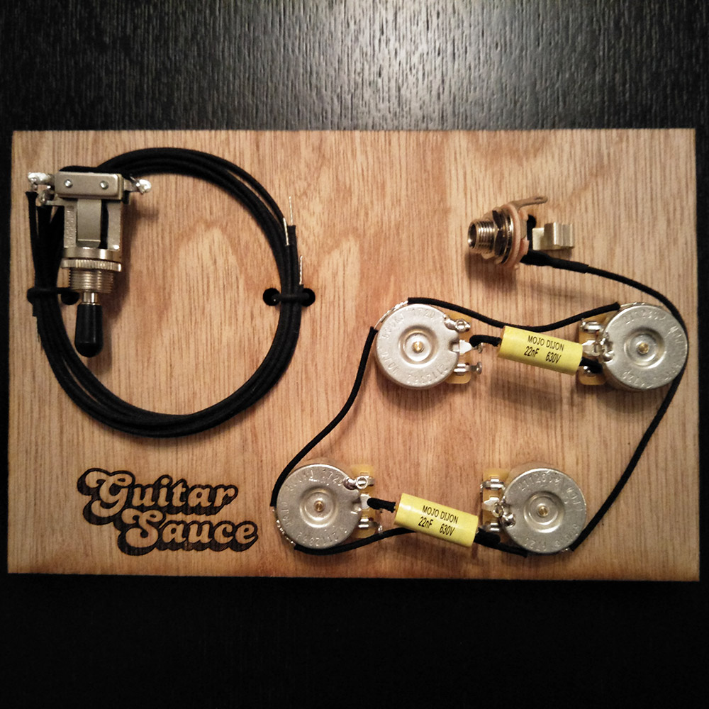 Guitar Les Paul Wiring Harness Complete Best Secret Diagram Gibson Premium Upgrade Sauce 1959 Epiphone Pickup