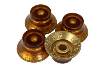 Amber bell knobs