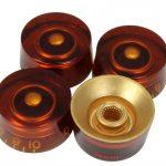 Amber speed knobs
